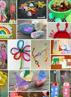 Tons of Fun Crafts for Kids