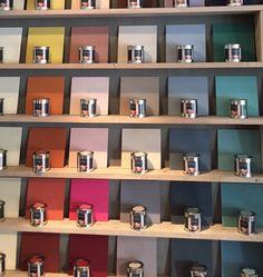 L'Authentique Paints & Interior Color presentation