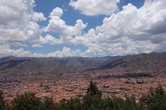 Landscape of Cusco in the morning 11/2013.  #incas #cuzco