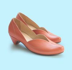 Coral Pumps cate, leather shoes,  heels shoes, handmade shoes. Women shoes, free shipping.