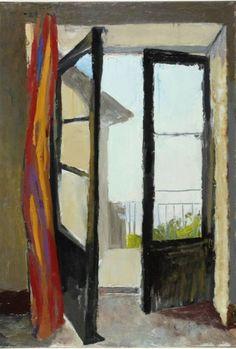 """Renato Guttuso (Italian, 1911-1987) - """"Finestra"""" (Window), 1960 - Oil on canvas"""