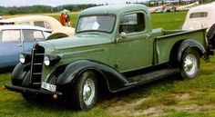 1936 Dodge Pickup Maintenance of old vehicles: the material for new cogs/casters/gears could be cast polyamide which I (Cast polyamide) can produce Antique Trucks, Vintage Trucks, Antique Cars, Dodge Pickup Trucks, Jeep Pickup, Pickup Camper, Truck Camper, Dodge Cummins, Pick Up