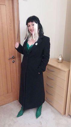 Narcissa Malfoy Harry Potter Fancy Dress, Diy Party, Dress Ideas, Dress Up, Cosplay, Costumes, Halloween, Coat, Jackets
