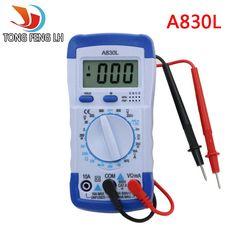 4.67$ (Buy here: http://alipromo.com/redirect/product/olggsvsyvirrjo72hvdqvl2ak2td7iz7/1000003424202/en )  A830L LCD Digital Multimeter DC AC Voltage Diode Freguency Multitester Volt Tester Test Current for just 4.67$