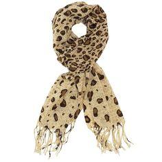 Accessories MinicciWomen's Ombre Leopard Scarf