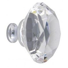 H042 Tucana Crystal Knob
