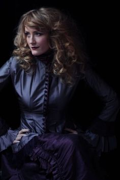 Helene Joy as Julia Ogden The Murdoch Mysteries 2013