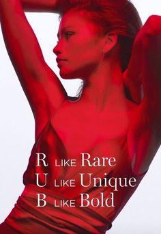 Zendaya for Lancome L'absolu rouge ruby cream lipstick 2019 #zendaya #lancome Zendaya Maree Stoermer Coleman, Unique, Movies, Movie Posters, Fictional Characters, Lancome, Lipstick, Cream, Red