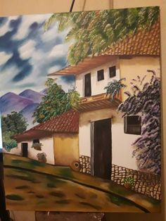 Cenas Do Interior, Painting Inspiration, Costa Rica, House Styles, Home Decor, City, Recipes, Paintings, Scenery Paintings
