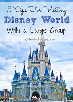 3 Tips for Visiting Disney World With a Large Group -- How to have a magical trip with your large group. Disney World 2017, Disney World Planning, Disney World Vacation, Disney Cruise Line, Disney Vacations, Disney World Tips And Tricks, Disney Tips, Disney Stuff, Cruise Florida