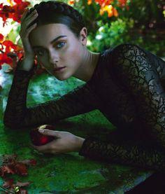 Jac Jagaciak by Camilla Akrans for Vogue Italia