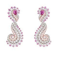 Van Cleef & Arpels – Le Secret High Jewellery Collection Pink Jewelry, Luxury Jewelry, Jewelery, Jewelry Accessories, Van Cleef Arpels, Saphir Rose, Titanic Jewelry, Brighton Jewelry, Jewelry Stores