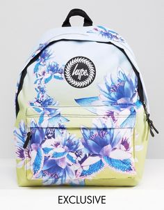 Image 1 of Hype Exclusive All Over Floral Backpack