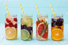 Lekker: zelf fruitwater maken