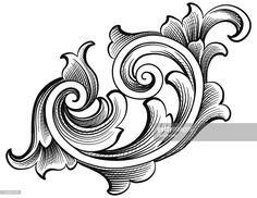 ベクトルアート : Fancy Scroll