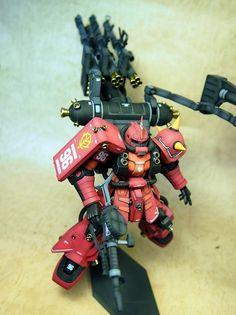 Bandai HG 1/144 MS-06R Zaku II Psycho Zaku GundamThunderbolt
