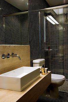 Mais espaço no lavabo  (Foto: Evelyn Müller)