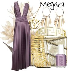 """""""Megara"""" by thestarvingartist1 on Polyvore"""