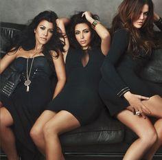 Kim Kardashian, Khloe Kardashian and Kourtney Kardashian Kim Khloe Kourtney, Kardashian Girls, Kardashian Family, Kardashian Style, Kardashian Jenner, Kourtney Kardashian, Kardashian Fashion, Kardashian Clothing, Kardashian Beauty