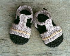 VITO Baby Boy sandalias zapatos del ganchillo por atelierbagatela