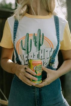 """Throw on this tee and gaze at the stars 'neath the Arizona Skies. This ringer takes a cue from the John Wayne western, """"'Neath the Arizona Skies"""" and we are fee"""