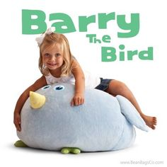 Comfort Research - Bean Bagimals  - Barry the Bird   ON SALE: $54.99   Free Shipping - No Sales Tax.
