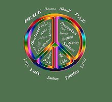 «PAZ» de LeytonKit #Peace #Paix #Pace #Eirini #Mir #Rahu #Pax