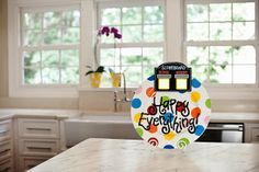 Bright #Dot #Platter with #Scoreboard Attachment TODAY, 9/27/13 ONLY! Enter to win a $50 @Coton Colors gift card. #SportsFanFriday #Giveaway #home #kitchen #gift #sports #football #basketball #tennis #fishing #golf #baseball #hunting www.thestyleref.com