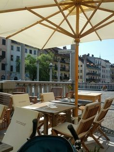 Coffee in Ljubljana on a Saturday morning