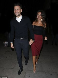 Tan-tastic! Couple Mark and Michelle step out at Faces nightclub in Essex