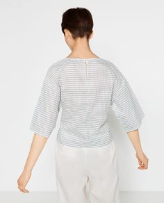 KIMONO WITH FRONT KNOT-View All-TOPS-WOMAN | ZARA United States