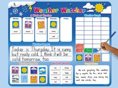 Weather Watcher Magnetic Board