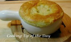 Cooking Tip of the Day: Recipe: Chicken Pot Pie with Puff Pastry Crust