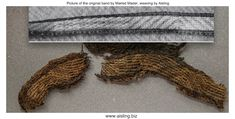 Aislings Welt: Die Borte aus dem Grab von Ketilstaðir, Island Tablet Weaving, Braids With Weave, Viking Age, Vikings, Island, Clothing, Textiles, World, The Vikings