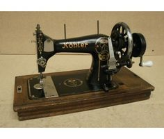 Vintage Kohler Sewing Machine - hand-cranked