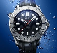 *Blog Update - Read iN!* #Omega 42mm Seamaster Diver 300M #Nekton Edition with Integrated Steel Bracelet or Black Rubber Strap!
