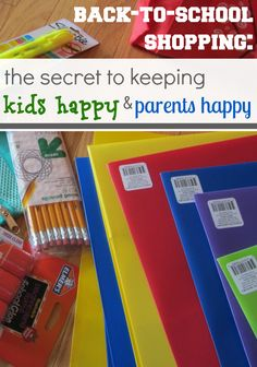 back-to-school shopping: the secret to keeping kids happy and parents happy #weteach @Target