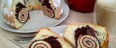 Recept Jogurtová bábovka s roládou Izu, Nutella, Pancakes, French Toast, Breakfast, Food, Yogurt, Morning Coffee, Pancake