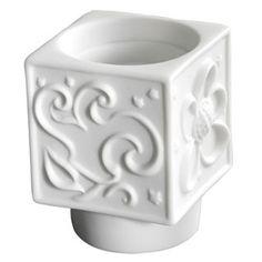 Jean Boggio Power Flower Cubic Decorative Porcelain. Biggs Ltd. Gallery. Heirloom quality bridal, art and home decor. 1-800-362-0677. $27.