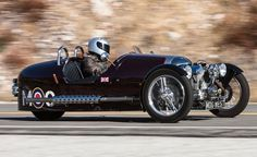 Morgan 3 Wheeler - not going to pay the asking price for one of these, but I do want one.