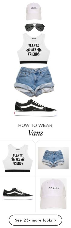 """""""Relax"""" by shiane816 on Polyvore featuring Minga, Yves Saint Laurent and Vans"""