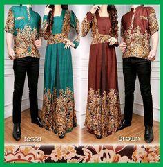Baju Batik Gamis Sarimbit 60