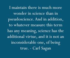 I love Carl Sagan