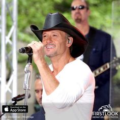 """Tim McGraw Performs On NBC's """"Today"""". Lots of photos on site."""