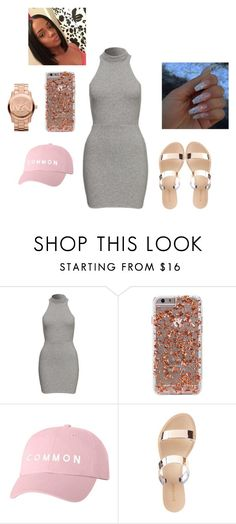 """""""👸👸"""" by official-jamaya ❤ liked on Polyvore featuring Charlotte Russe and Michael Kors"""