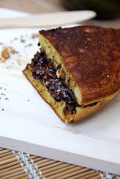 Martabak Manis ... My husband loves this pancake treat!