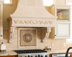 how to decorate on top of kitchen cabinets 1000 images about cast kitchen range hoods on 16931