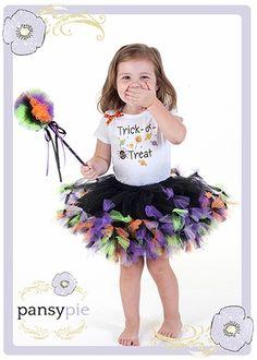 Trick Or Treat Halloween Tutu Set