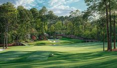 12th Hole Golden Bell Augusta National http://www.golfcourseartwork.com/golf-prints/augusta-national-golf-course-prints/12th-hole-golden-bell-1/12th-hole-augusta-national-golden-bell-golf-print