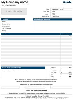 canadian small business owners: here's what has to be on your, Invoice examples
